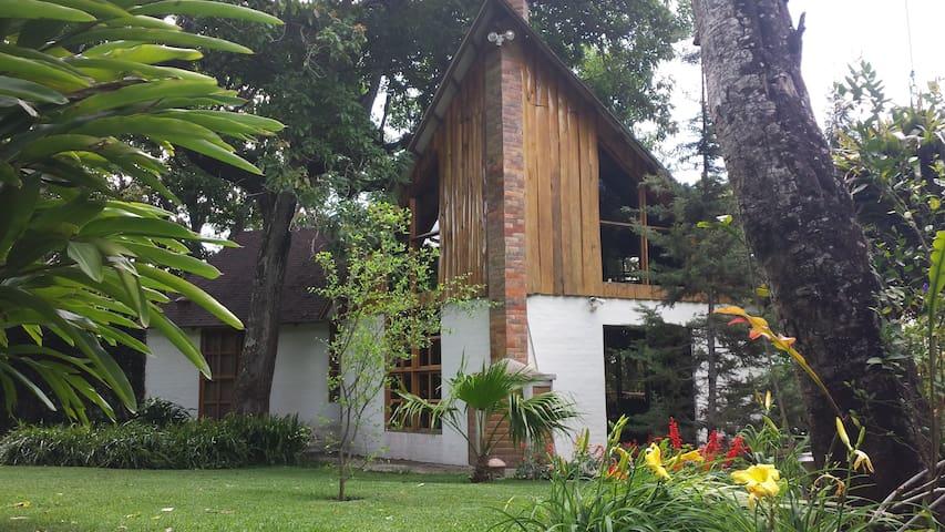 Chalet en Apaneca - Mountain Cabin! - Apaneca