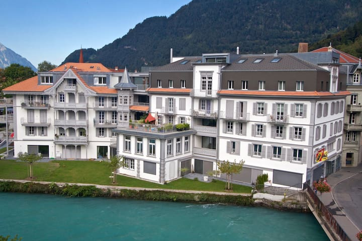 Cosy Quality Interlaken Apartment Perfect Location - Unterseen - Daire