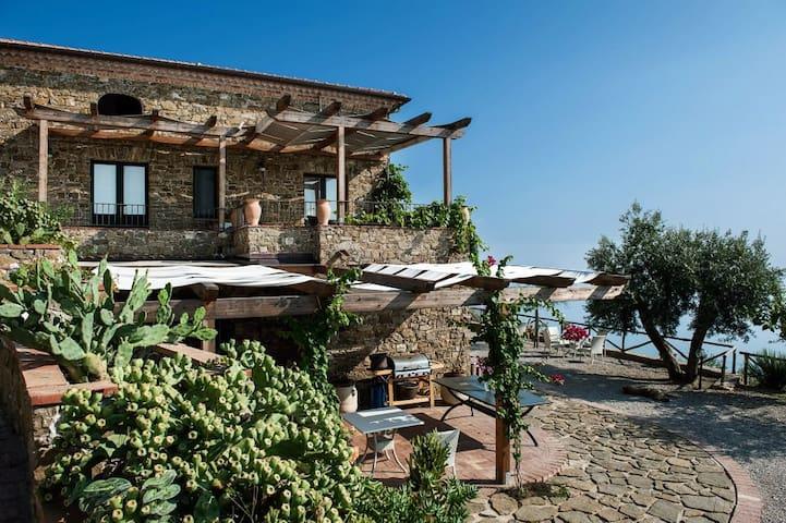 Casale Santa Rosalia ,Country House - San Mauro Cilento - Гестхаус