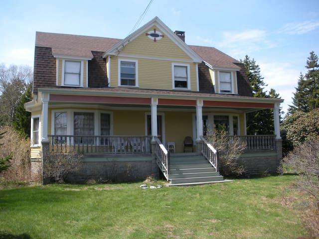 Maine Island Seasonal Home - Swans Island