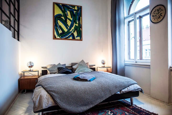 *new* STUDIO CENTRAL APARTMENT made with LOVE - Prague