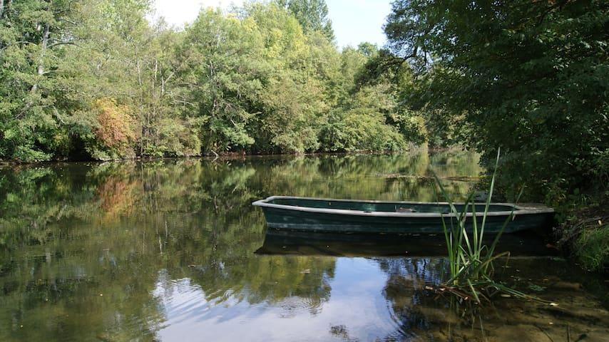 Charmant T1 proche rivière et centre bourg - Saint-Aigulin - Daire