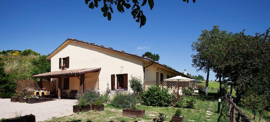 Agriturismo Bufano - Apt Ciclamino - Cagli - Wohnung