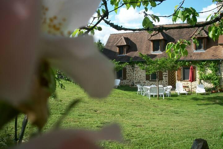 Piscine & fermette en Dordogne - Jumilhac-le-Grand - Hus