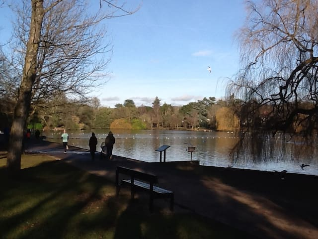 Lovely 2 bed apartment in beautiful lake location - Cardiff
