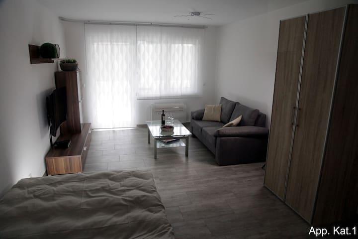 Apartment 09 - Kat.1 - ca. 36m² - Würselen - Daire