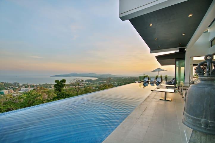 Luxury Villa with Amazing Sea View - Choeng Thale - Βίλα