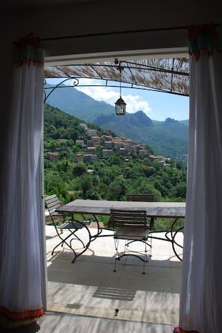 nature, calme, et magnifique vue sur le village - Nessa - Arazi Evi