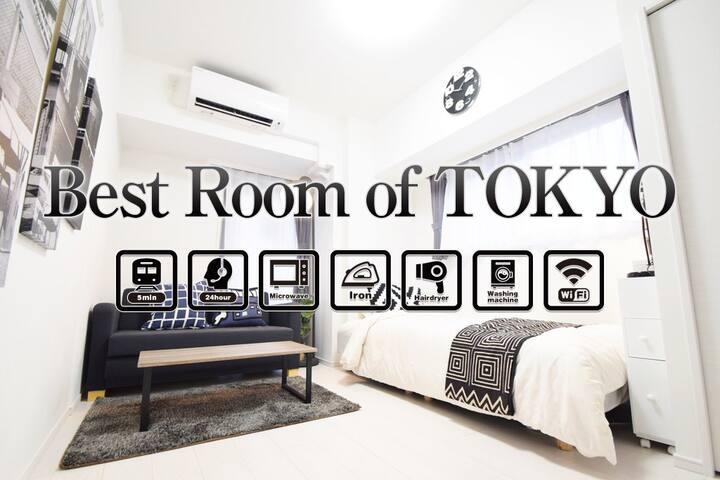 NEW OPEN ! UENO ASAKUSA AREA FOR 3ppl FREE WIFI ☆ - Taitō-ku - Квартира