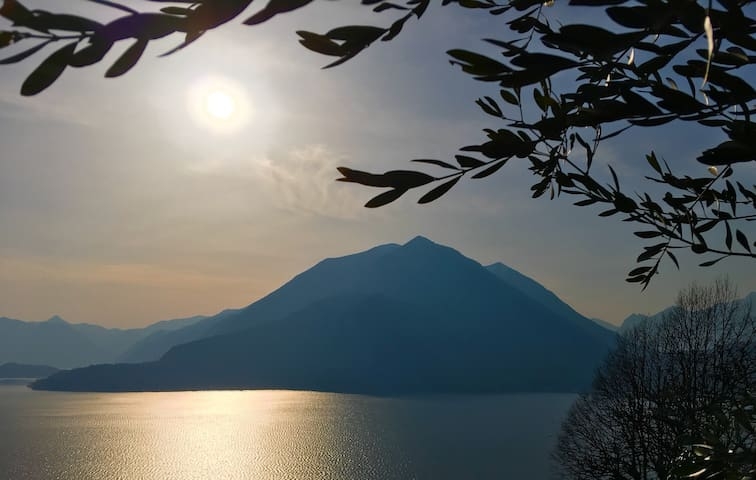 Best Mountain/Lake View - Under the Como Sun - Perledo - Casa