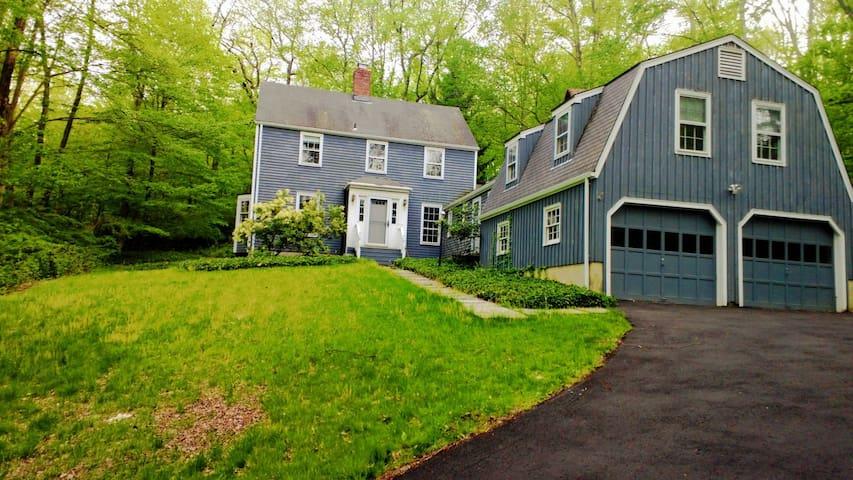 Peaceful New England Retreat - Blue Room - Wilton