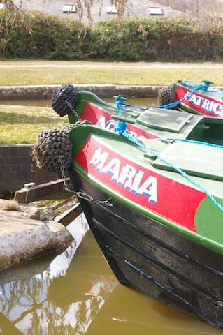 Narrowboat 'Maria' - Stone