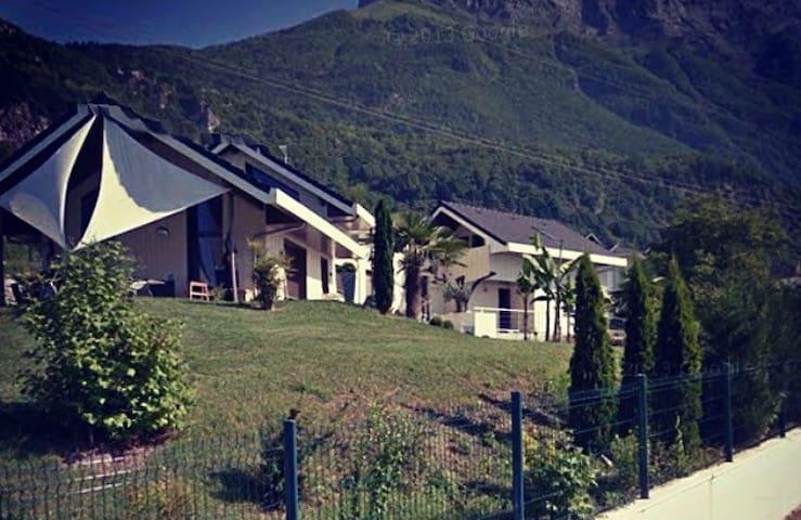 Villa d'exception avec piscine en combe de Savoie. - St pierre d'albigny - Villa