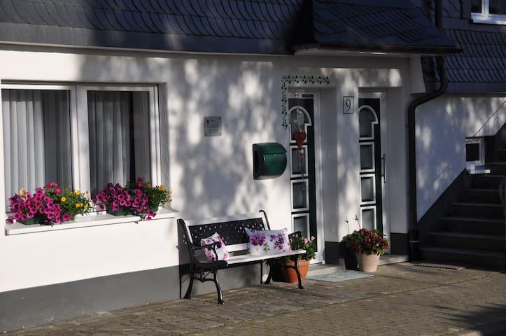 Schöne FeWo in der Dorfmitte Fleckenberg - Schmallenberg - Appartement