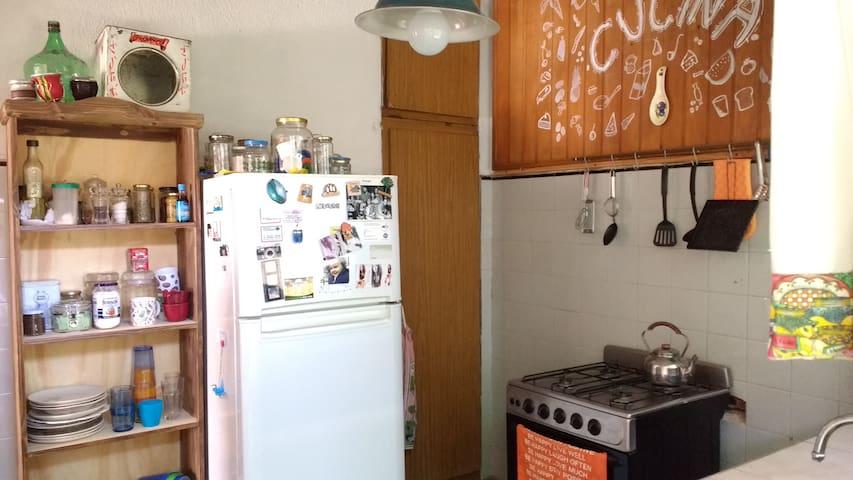 Castelar, Habitacion Privada, Hermoso Barrio - Castelar - Lägenhet