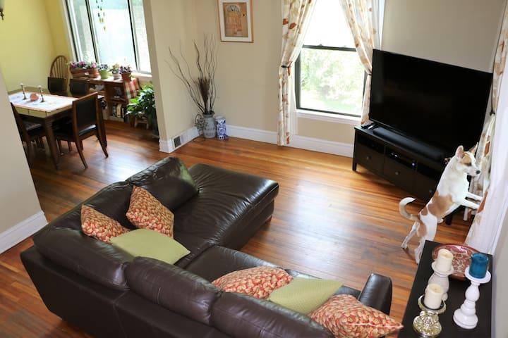 Cozy & Quiet 15 min Drive From Downtown - Oak Park - Huis