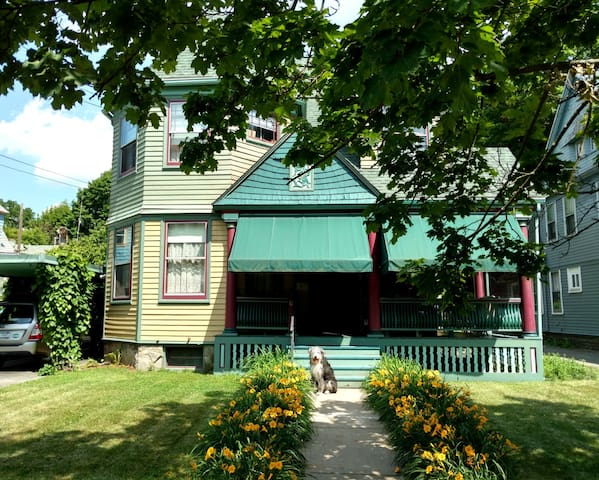 Queen Anne Bed & Breakfast Room # 1 - Binghamton - Hus