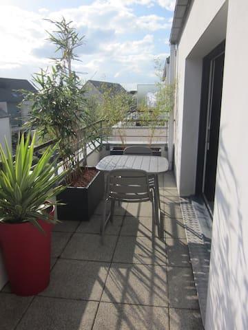 T2 à 5 mn de Vannes, terrasse Sud - Plescop - Lägenhet