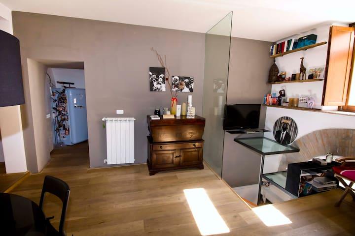 Atterraggio in delizioso open space - Viterbe - Appartement en résidence