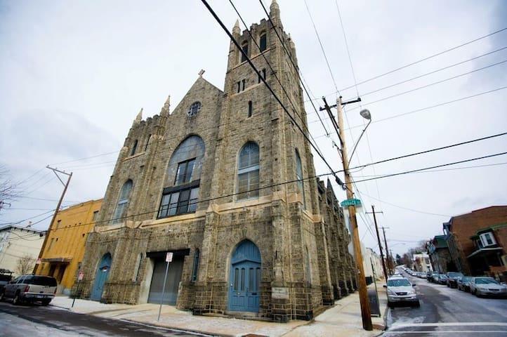 MANAYUNK CONDO converted Church - Philadelphia - Loft