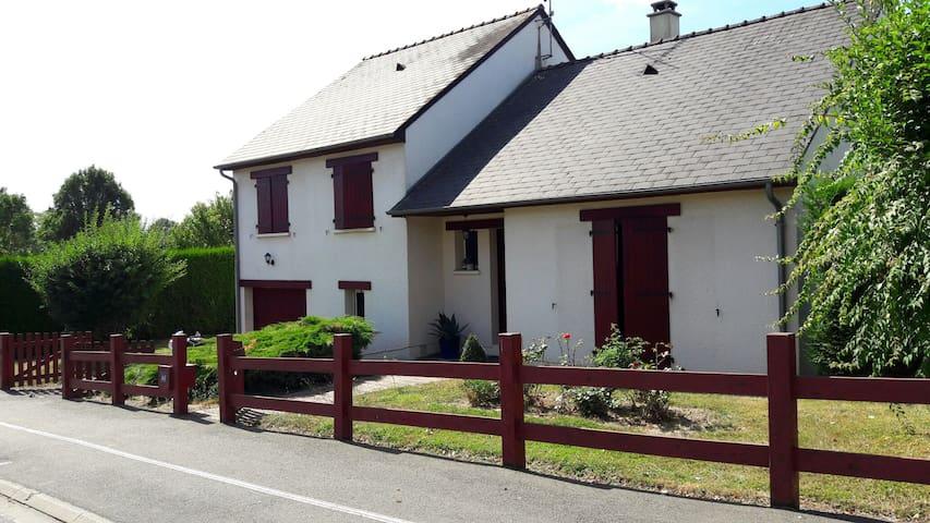 Maison en ville près d'un parc avec terrain - château gontier  - Ev
