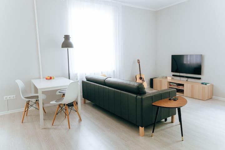 Clean&Cozy studio apartment + separate bedroom - Kazan - Appartamento