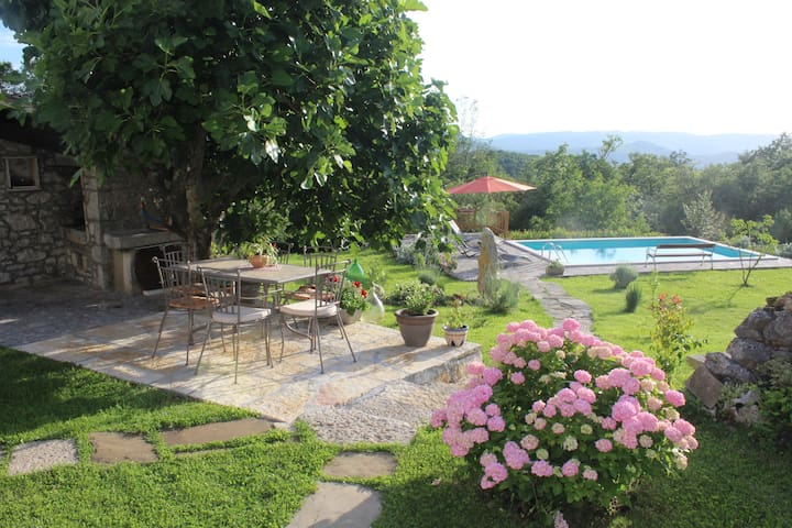 Neighbors free Villa Mavrići - Buzet - 別墅