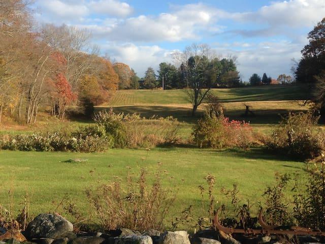 wide views, clean & simple retreat - Lincoln - Huis