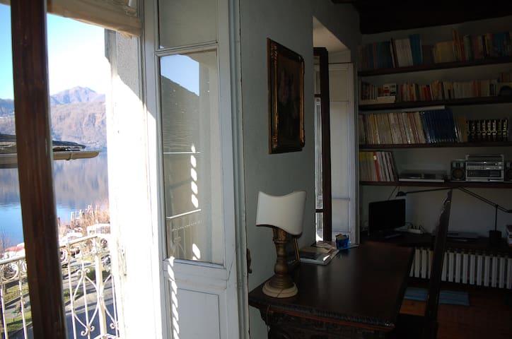 3 camere vista lago per 6 persone, con garage - Orta San Giulio - Departamento