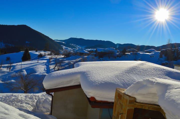 The house with the best view in Rhodope - Panorama - Gela