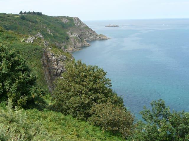 Charmant loft à 500m des plages - Tréveneuc - Leilighet