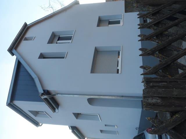 Grande chambre individuel dans maison avec jardin - Rixheim - Дом