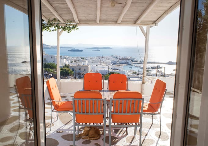 Ideal location, with the best view. - Mikonos - Daire
