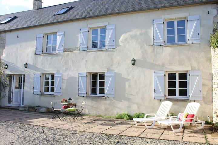 Le Gîte de La Grange - Martragny - Huis