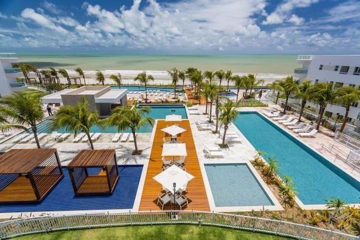 Apartamento Resort In Mare Bali - Lazer e conforto - Parnamirim