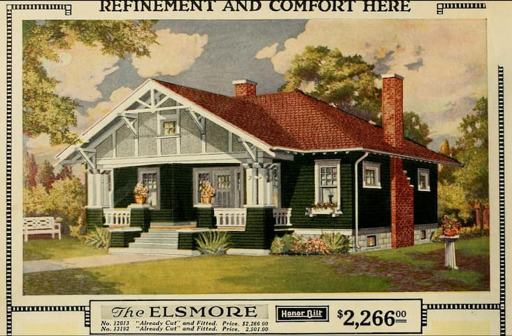The Elsmore:  A Sears kit home - Dayton - Bungalov