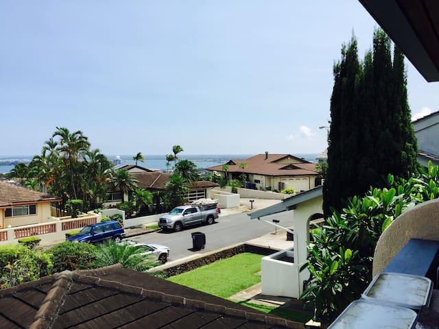 Pearl Harbor/ocean view home - Aiea - Haus
