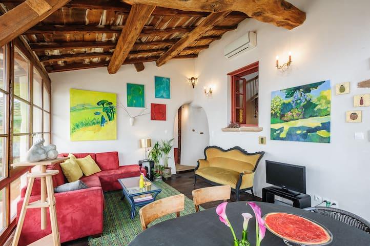 loft in Beautiful XIX° farm Lyon - Genay - Loft
