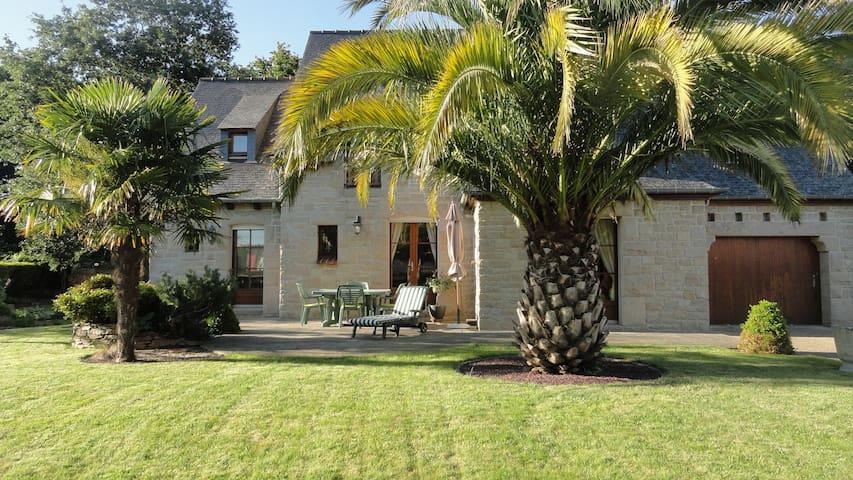 Chambre privée maison dinannaise - Dinan - Hus