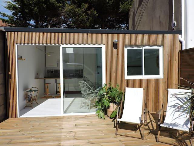 Studio avec terrasse proche plage et centre - Saint-Gilles-Croix-de-Vie - Haus