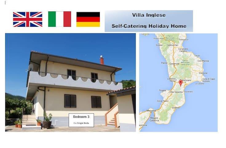 Mountain Location Quiet Retreat 3 plus beaches - San Luca - Villa