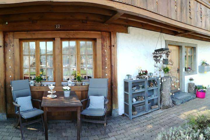 Studio in der Spiezerbucht mit Seeblick - Spiez - Appartement