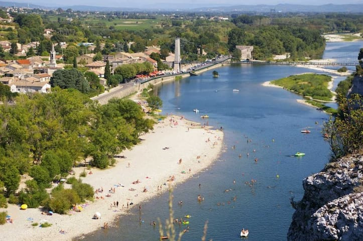 Beautiful Studio by the river - Saint Martin d'Ardèche - Daire