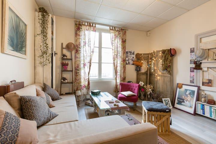 un petit chez-soi chaleureux - Dinan - Lägenhet