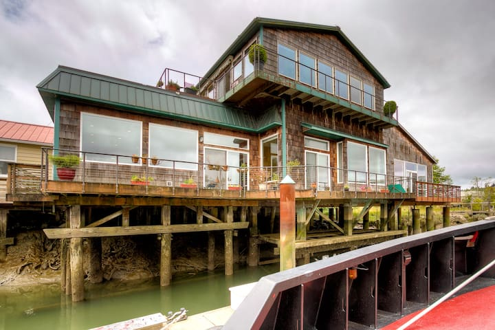 Levee House / Experience Life On The River - Hoquiam - Townhouse