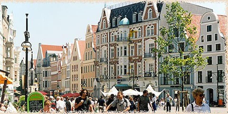 Zimmer im Zentrum - Rostock - Apartemen