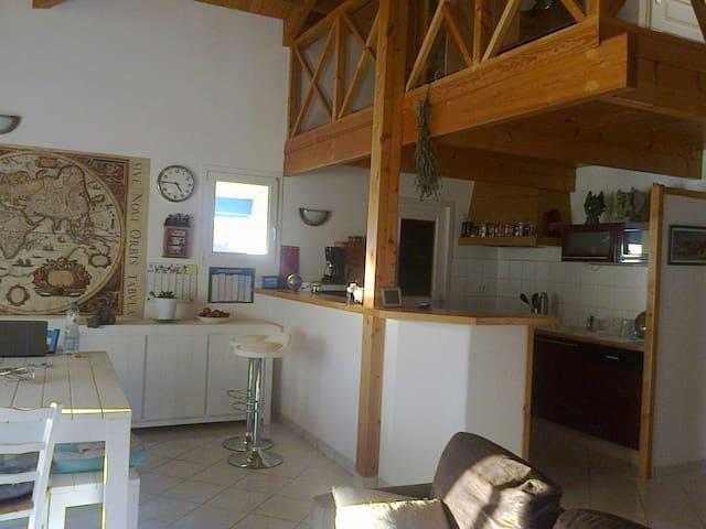 maison  dans petit bourg , calme - Castelnau-Chalosse - Ev