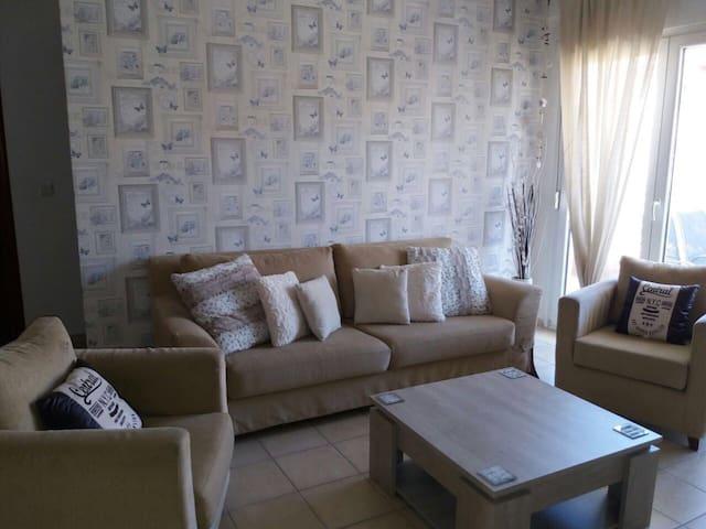Enjoy our cozy home. 2 bedrooms,nice and modern - Pefkochori - Lägenhet