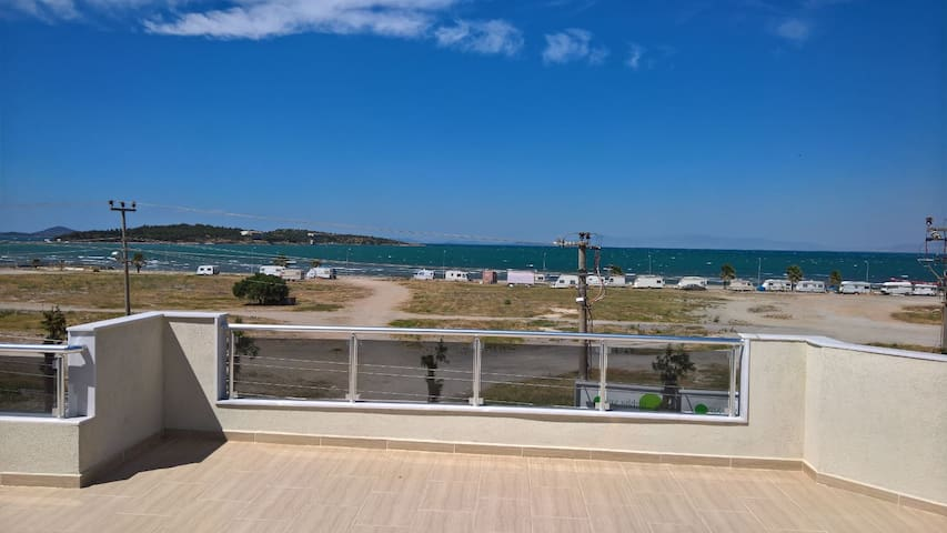 Urla Iskele appartment with sea view - Urla - Appartement