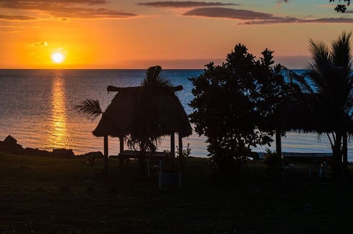 Vatia Beach Eco Lodge - Bure w/WC - Tavua - Bungalov